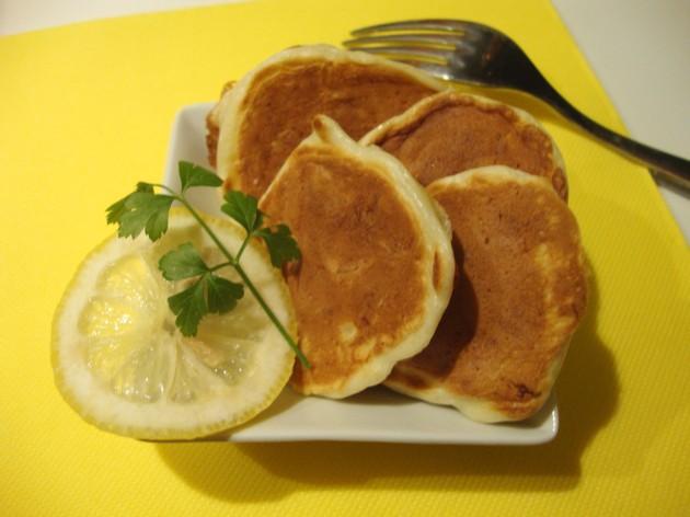Pancake al baccalà 2