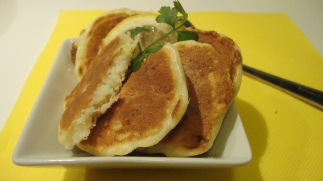 Pancake al baccalà