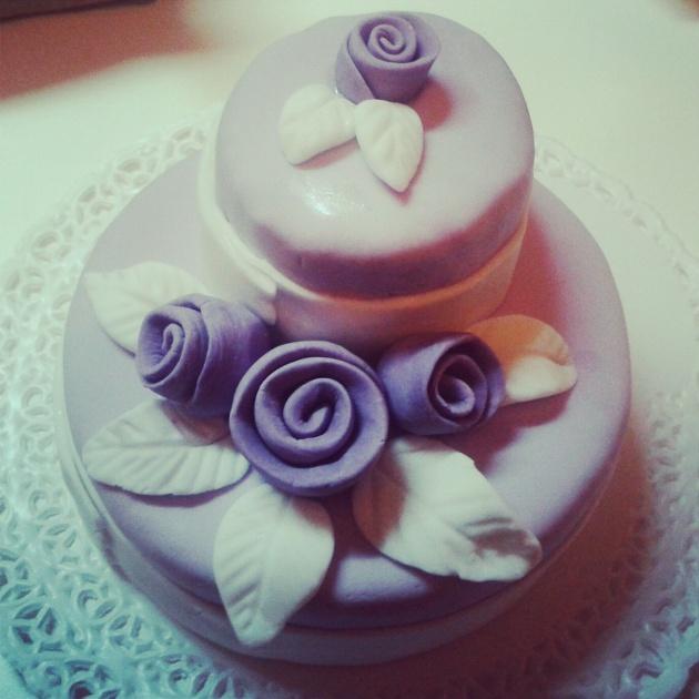 torta viola